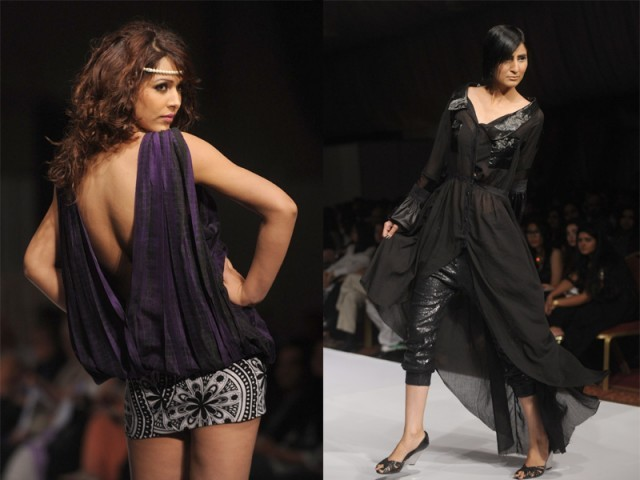 FASHION SHOWS IN PAKISTAN TO PROMOTE PAKISTANI FASHION OR TO PROMOTE VULGARITY